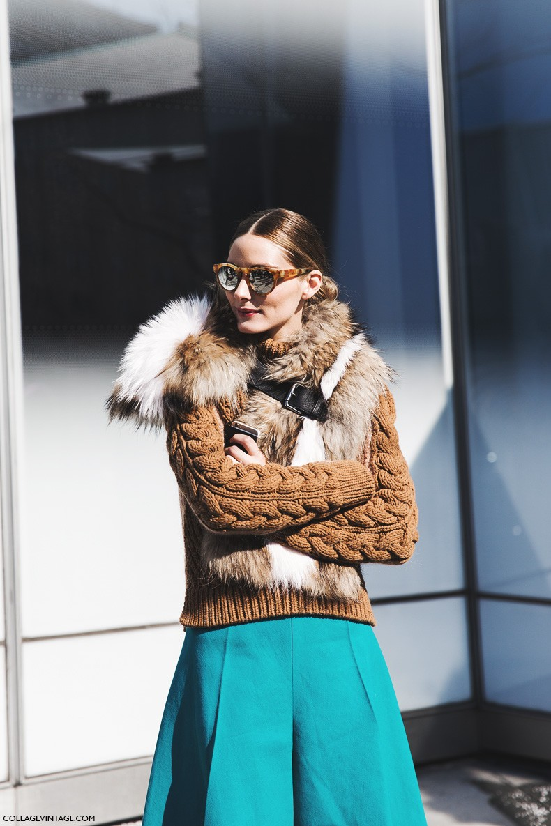 New_York_Fashion_Week-Fall_Winter_2015-Street_Style-NYFW-Olivia_palermo_Culotte-Kitwear-Fur_Scarf-3-790x1185